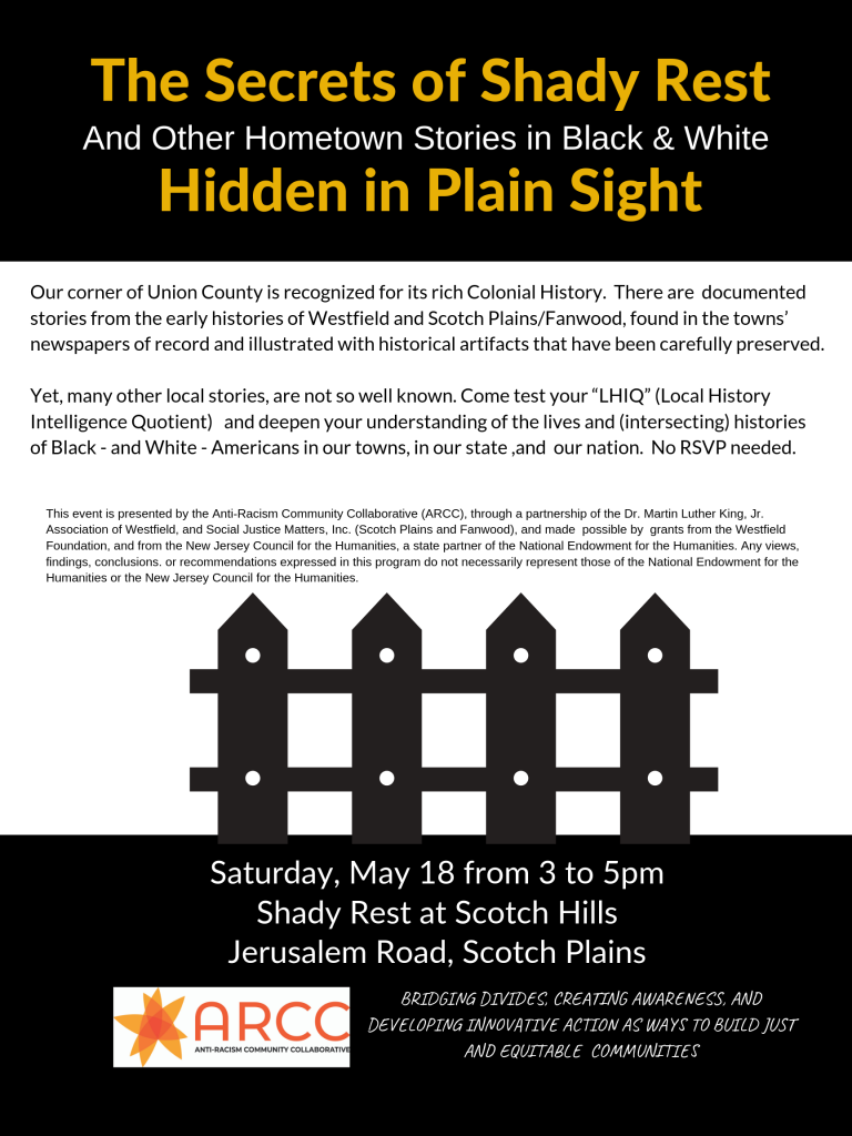 Secrets of Shady Rest Event Flyer